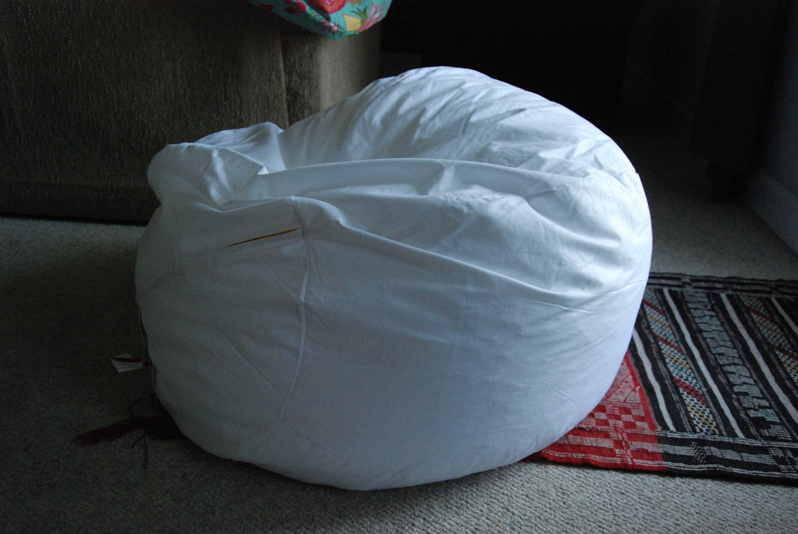 Bean Bag Chair Covers Cover Rentals For 1.00 Mab Test Tutorial