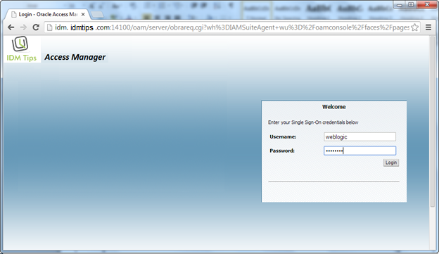 IDM Webgate Integration with IIS 7