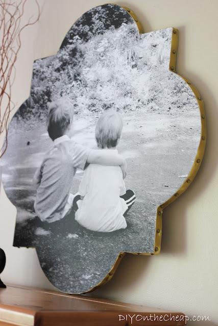 Quatrefoil Photo Wall Art
