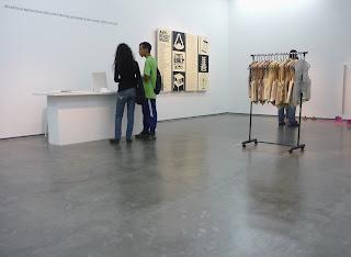 Muestra en Espacio Monitor Anti-Readymade, en Los Galpones