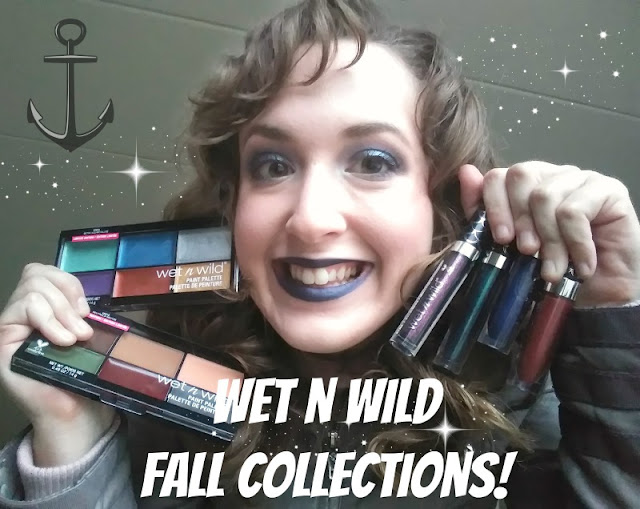 Aquatic Navy Sparkle | New Wet 'n' Wild Midnight Mermaid Collection! YouTube Video + Swatches!