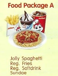 Jollibee Party Package 2019 - Food Package A