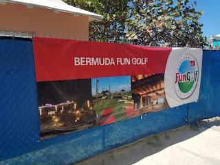 Bermuda Fun Golf. Photo by Adam Lueb, May 2018
