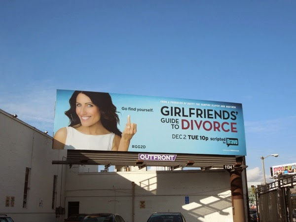 Girlfriends Guide to Divorce billboard