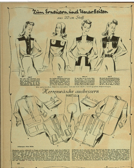 Frauen Warte German Fashion WWII