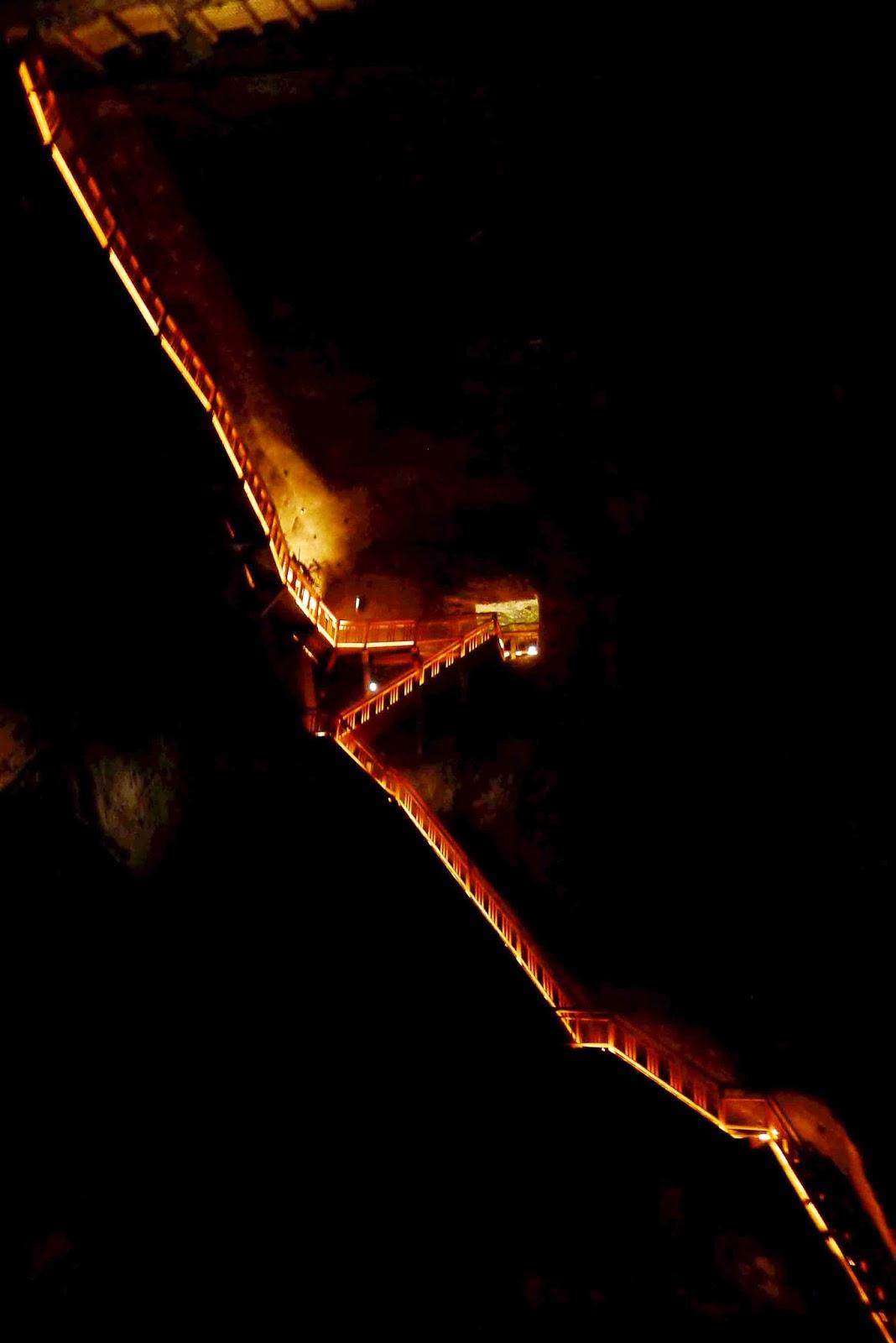 Wieliczka Salt Mine Stairs
