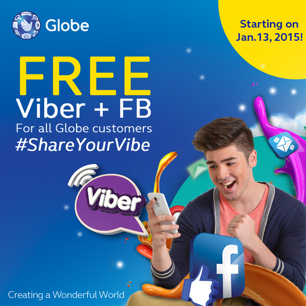 Free Facebook plus Free Viber