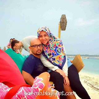 Foto Mesra Devi Permatasari dengan Suaminya