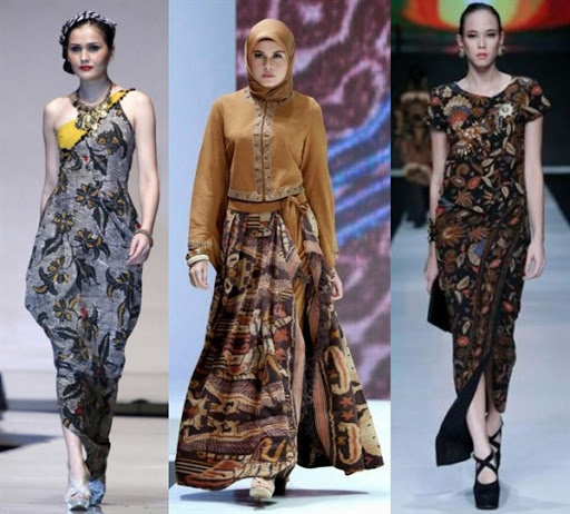 20 Model Dress Batik Terbaru cf7b5582fc