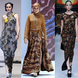 Model Dress Batik Panjang Terbaru Model Batik 2019
