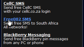 sms gratis para africs