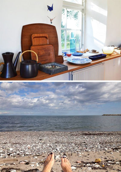 vacation cottage, sweden, authentic, near the beach, rental home