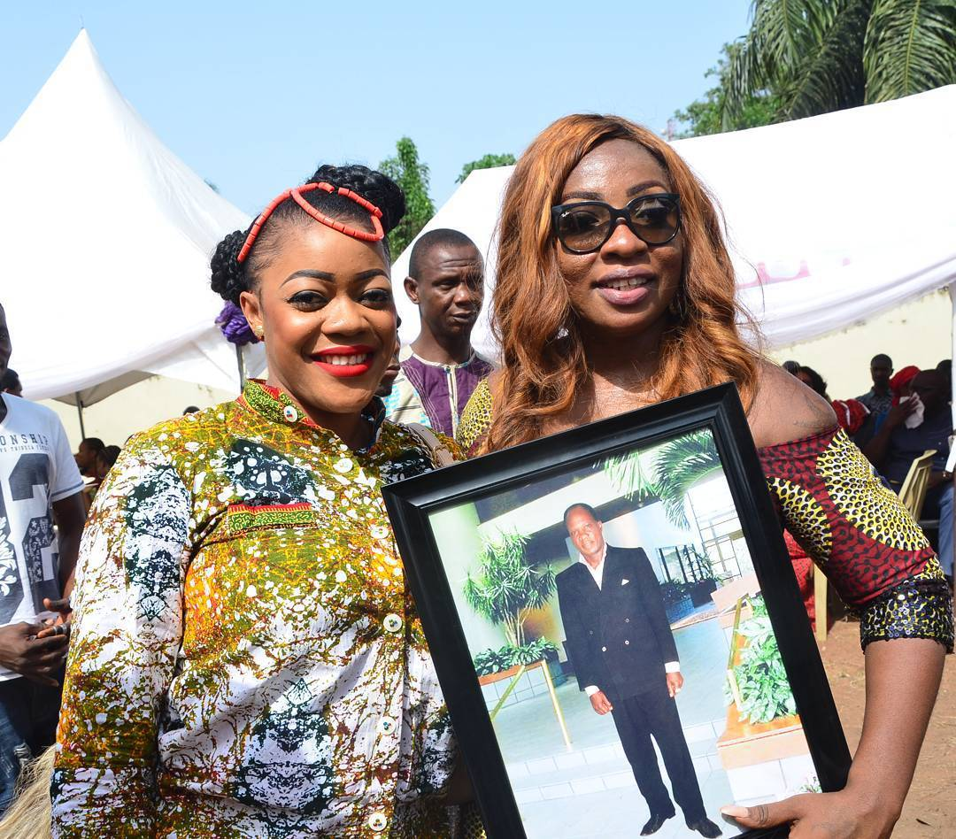 Nollywood Stars In Aso Ebi As Anita Joseph Buries Late Father In Nsugbe Anambra State PHOTOS