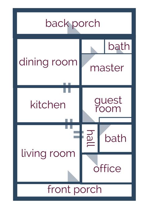 Home Tour: The Floorplan