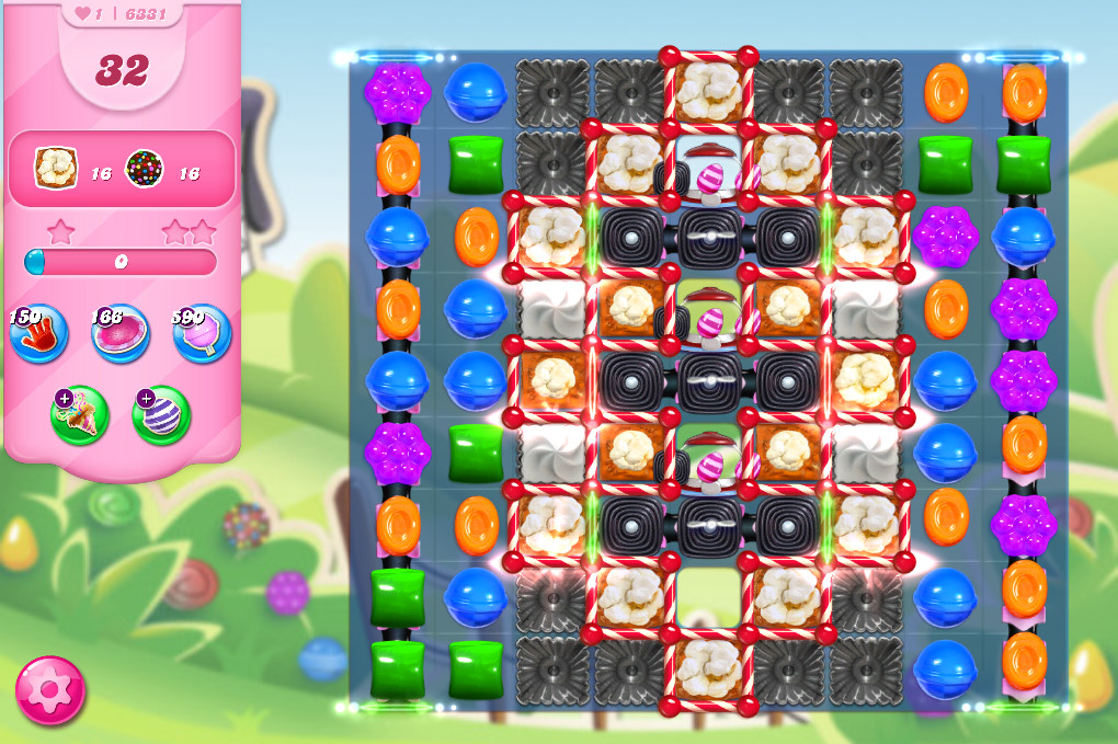 Candy Crush Saga level 6331