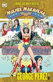 Lendas do Universo Dc - Mulher Maravilha - Vol.1 Book Cover