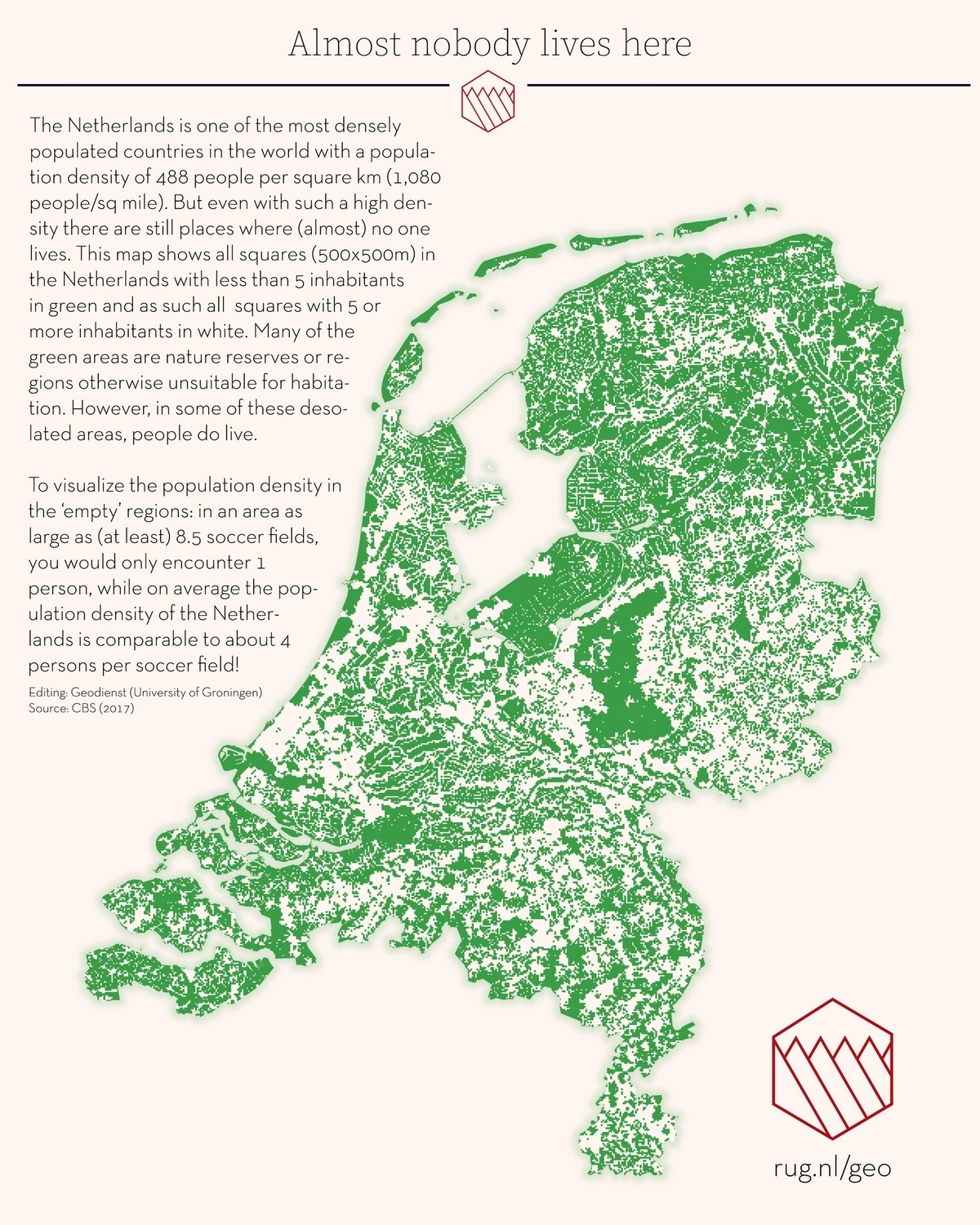 Netherlands: Nobody lives here