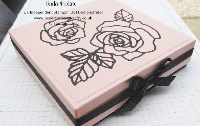 A large sturdy gift box by Linda Parker, UK Independent Stampin' Up! Demonstrator