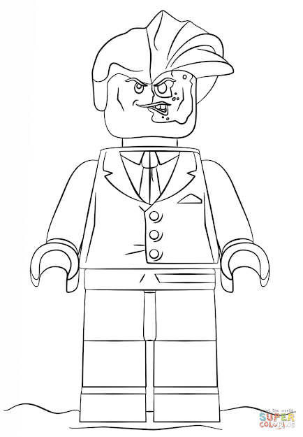 Click The Lego Two Face Coloring Pages To View Printable Version Or Color  It Online Patible With Ipad And Android Tablets