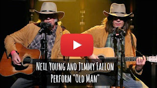 Watch legendary Neil Young and Jimmy Fallon perform perform the classic hit song Old Man as two Neil Young's on Tonight Show via geniushowto.blogspot.com amazing music videos