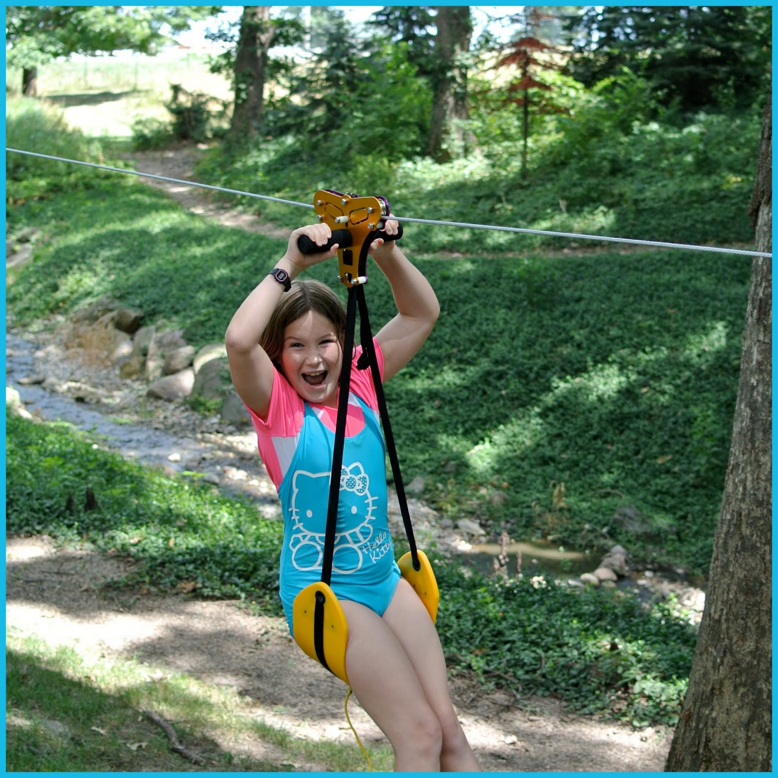 Catholic All Year: A Backyard Zip-Line (and other Iowa ...