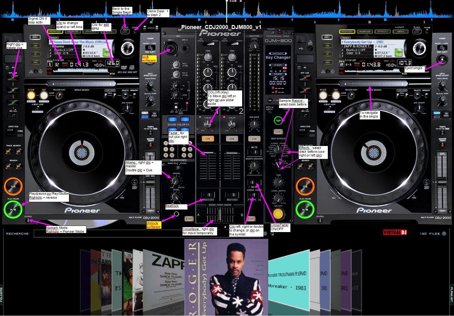 CDJ SKINS GRATUIT DJ TÉLÉCHARGER VIRTUAL PIONEER 2000