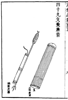 Ming Dynasty Rocket Pod