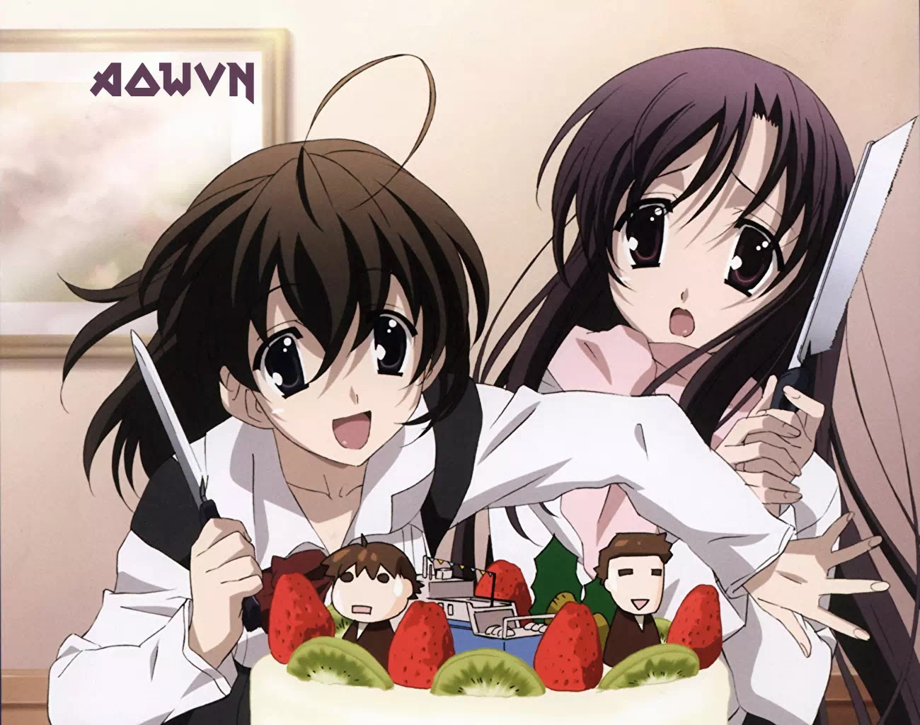 AowVN.org m%2B%25282%2529 - [ Anime 3gp Mp4 ] School Days BD | Vietsub
