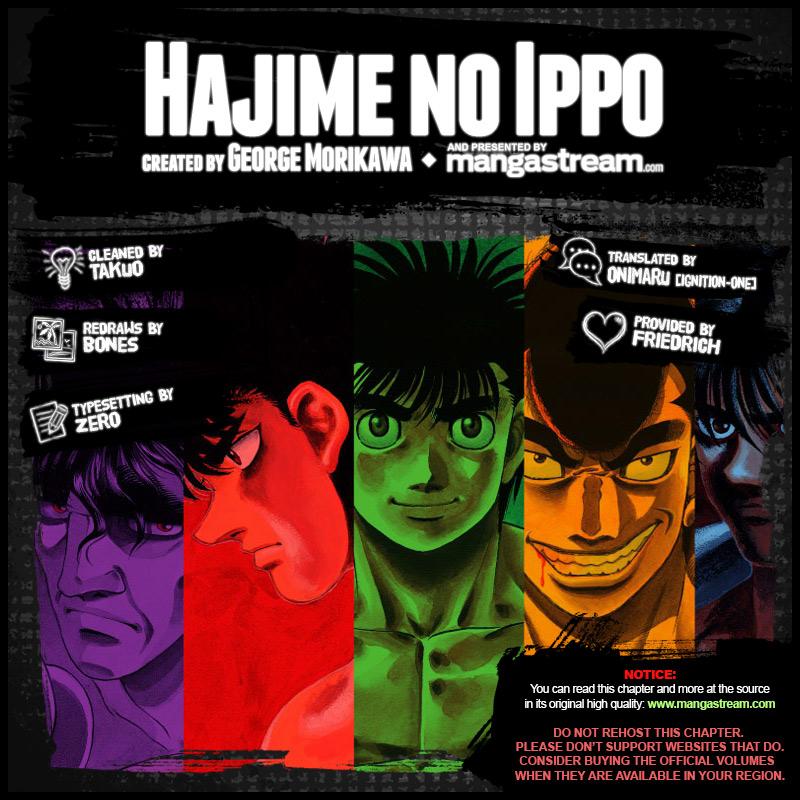 Hajime No Ippo 1162 En