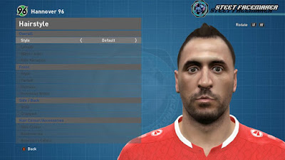 PES 2016 Hugo Almeida (Hannover 96) Face by Steet Facemaker