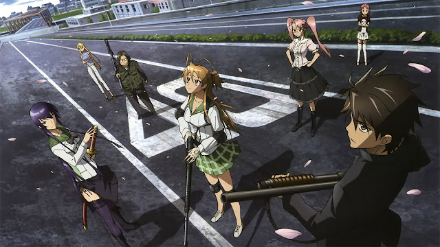 Download Review Anime HOTD (Highschool of The Dead)
