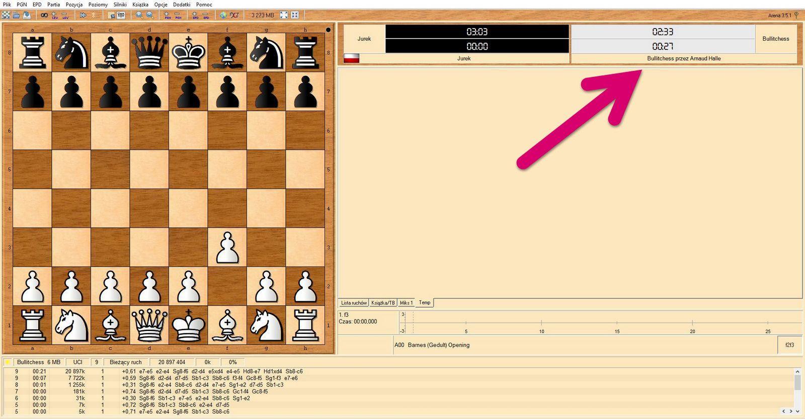 Chess Engines Diary: Chess engine: BullitChess 1 0