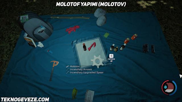 The Forest Molotof Yapımı Molotov