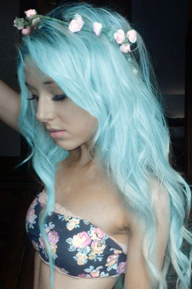 Baby Blue Hair Colors