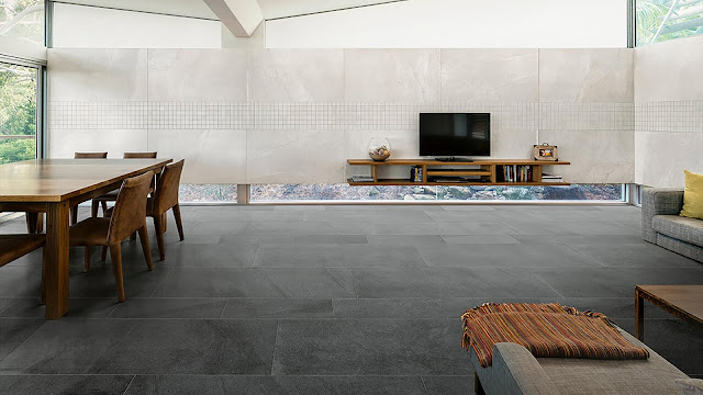 Modern floor tiles design with Portraits