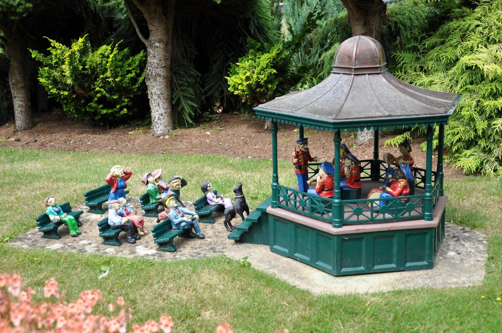 Concert, Model Village, Godshill, Isle of Wight, UK