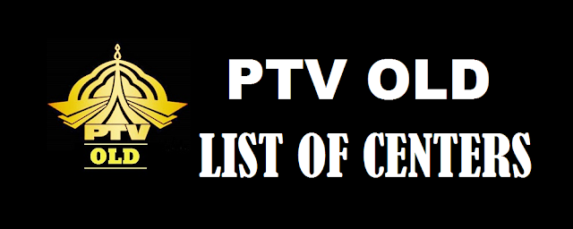 List of Centers of PTV
