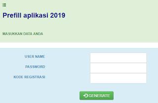 LINK GENERATE PREFILL APLIKASI DAPODIK VERSI 2019 TAHUN PELAJARAN 2018/2019 SEMESTER 1
