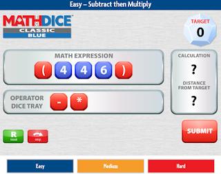 Math Dice Online