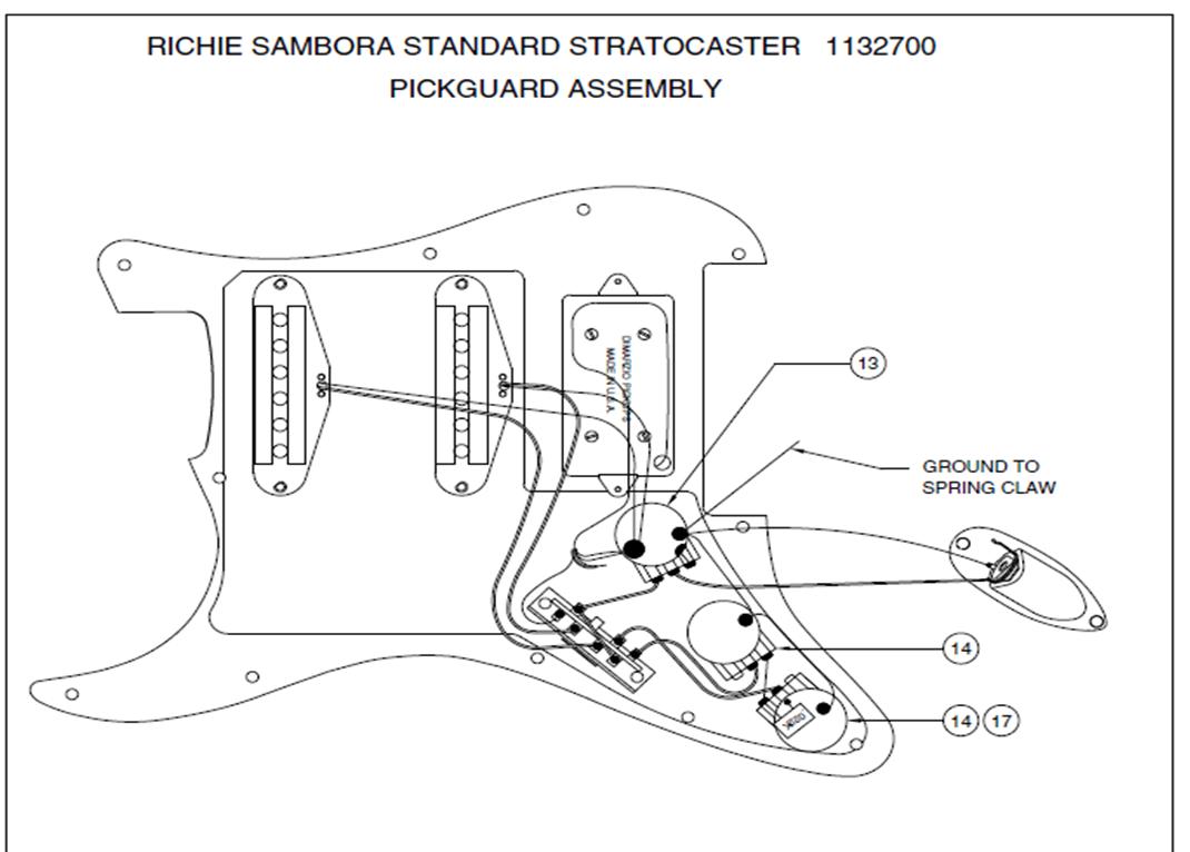 Jw Guitarworks  Schematics