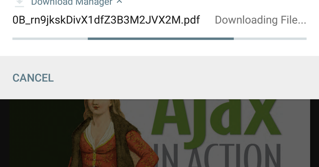 Downloading File From Android WebView