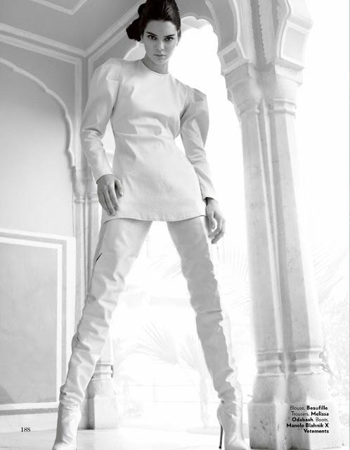 Kendall Jenner Vogue India Hot Photoshoot