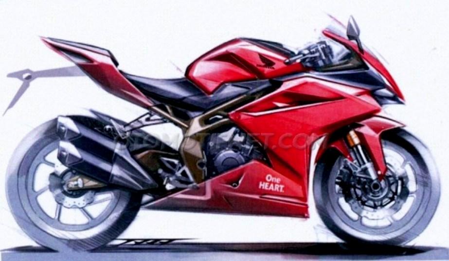 Seperti inilah desain awal All New Honda CBR 250RR, keren mana sama aslinya sob ?