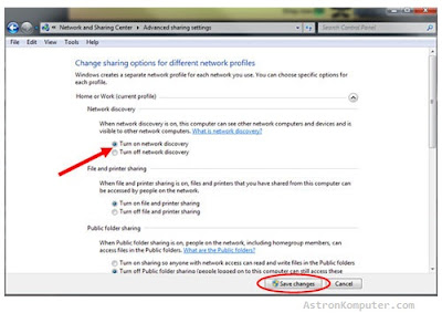 UPnP Windows 7