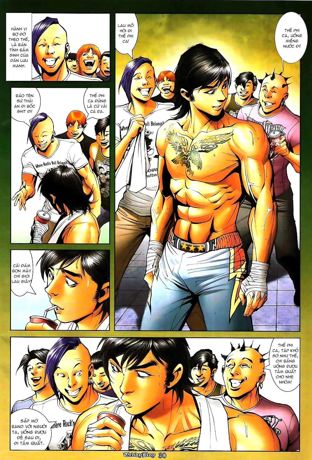 Người Trong Giang Hồ - Chapter 1286: Tứ Cửu lên Đại Đê - Pic 28