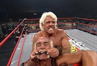 WCW Uncensored 2000 - Ric Flair faced Hulk Hogan in a Yapapi strap match