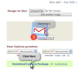 cara membuat favicon mudah dan memasang pada blog