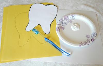 Experimentos sobre los empleos y trabajos: Lavamos los dientes en el dentista