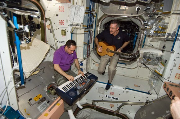 Life on ISS