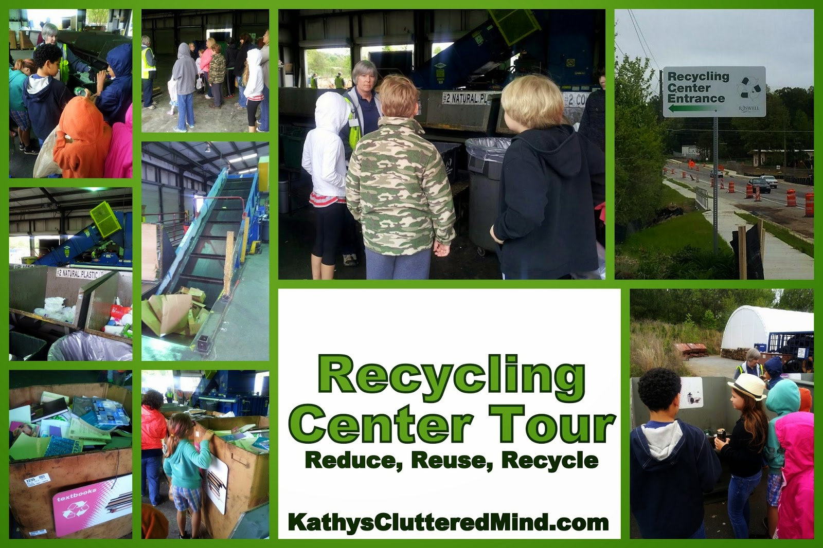 Roswell Recycling Center >> Kathys Cluttered Mind Roswell Recycling Center Tour Free